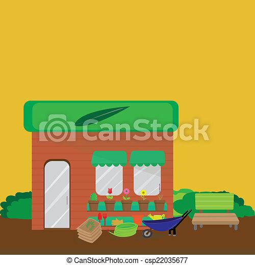 Garden shop - csp22035677
