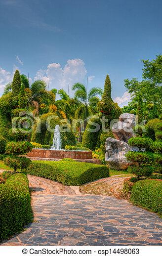 Garden - csp14498063