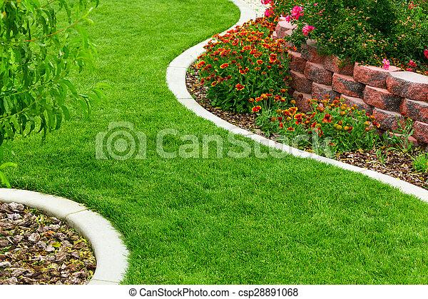 Garden - csp28891068