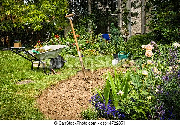 Garden - csp14722851