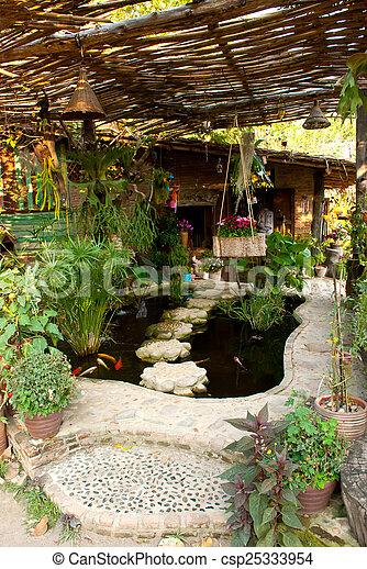 garden - csp25333954