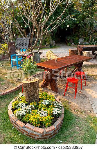 garden - csp25333957