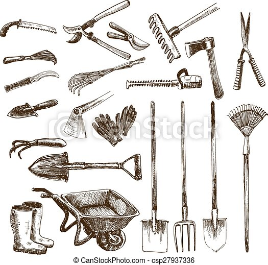 Garden tools - csp27937336