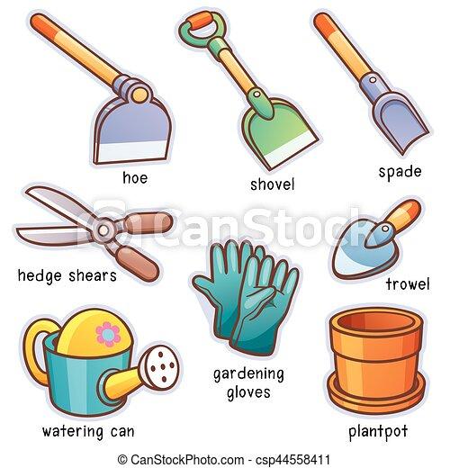 garden tools csp44558411 - Garden Tools