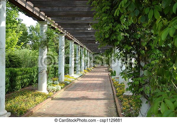 Superbe Garden Walkway   Csp1129881