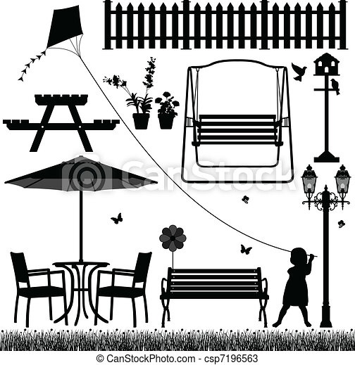 Garden Yard Field Park Outdoor - csp7196563