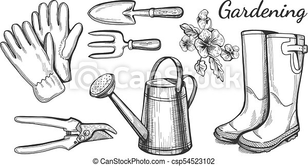 gardening and agriculture objects