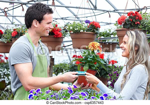 gardening. - csp6357443