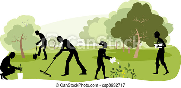Gardening - csp8932717
