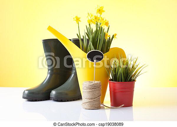 gardening - csp19038089