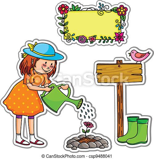 gardening set - csp9488041