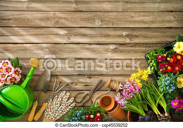 Gardening - csp45539252