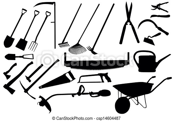 gardening tools collection vector search clip art illustration rh canstockphoto co uk  vector clipart collection
