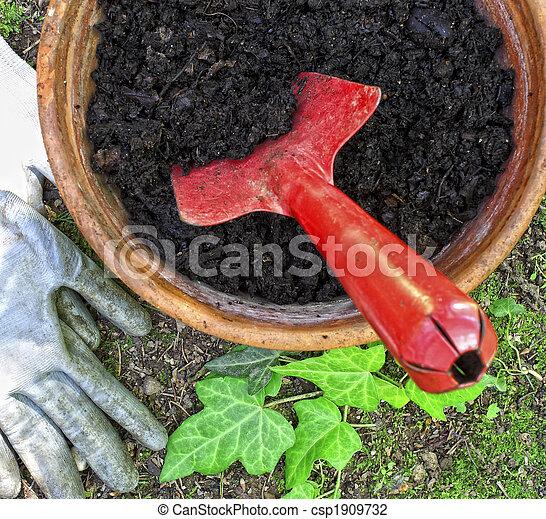 gardening utensil - csp1909732