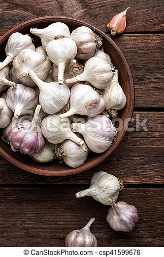 garlic - csp41599676