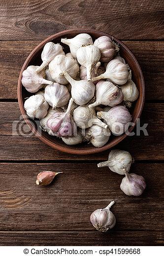 garlic - csp41599668