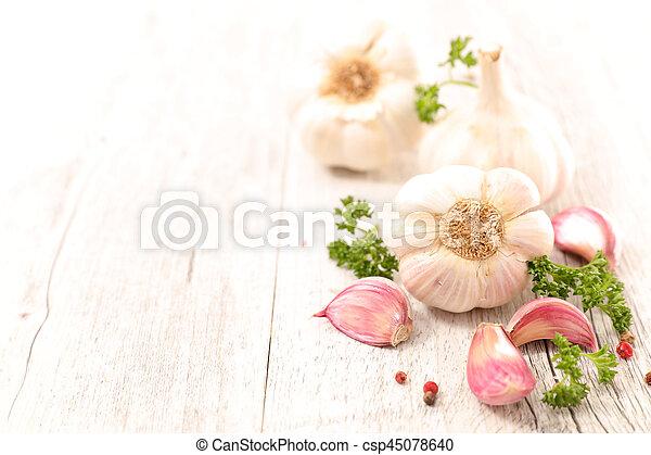 garlic - csp45078640
