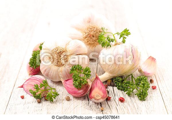 garlic - csp45078641