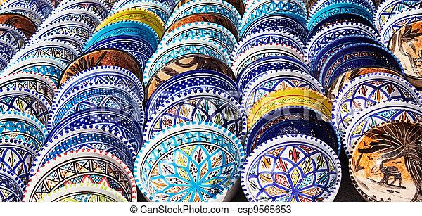 garncarstwo, barwny, arabszczyzna - csp9565653