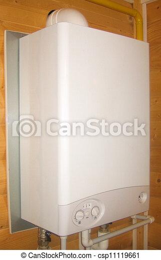 Gas boiler - csp11119661