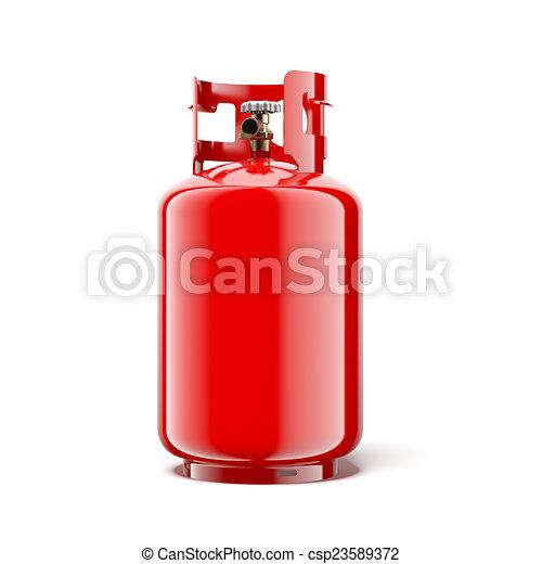 Gas bottle  - csp23589372