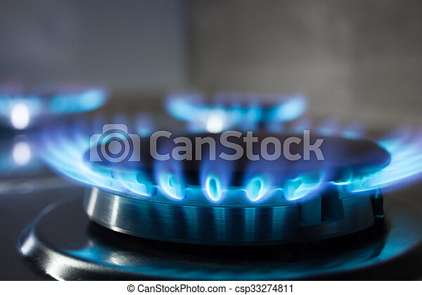gas burner flame at gas stove csp33274811 c30 flame