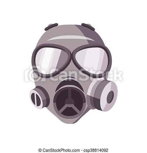 gas mask icon cartoon style gas mask icon in cartoon style eps rh canstockphoto com cartoon gas mask ww2 cartoon gas mask ww2