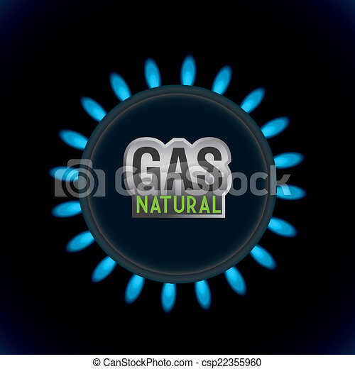 gas natural design - csp22355960