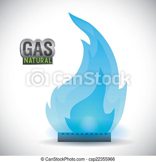 gas natural design - csp22355966