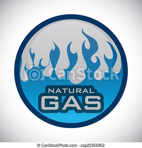 gas natural design - csp22355952