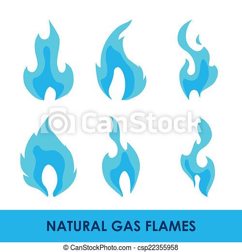 gas natural design - csp22355958