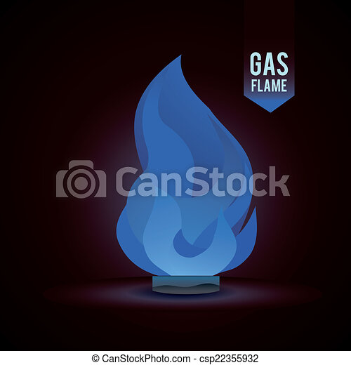 gas natural design - csp22355932