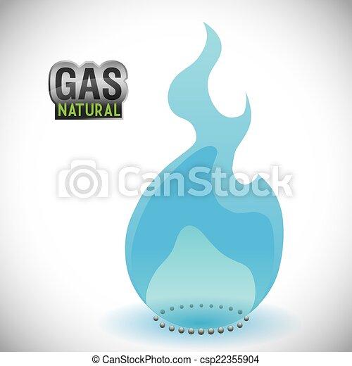 gas natural design - csp22355904