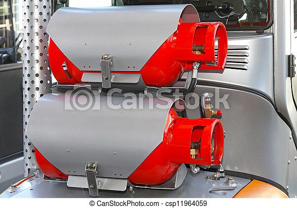 Gas power - csp11964059
