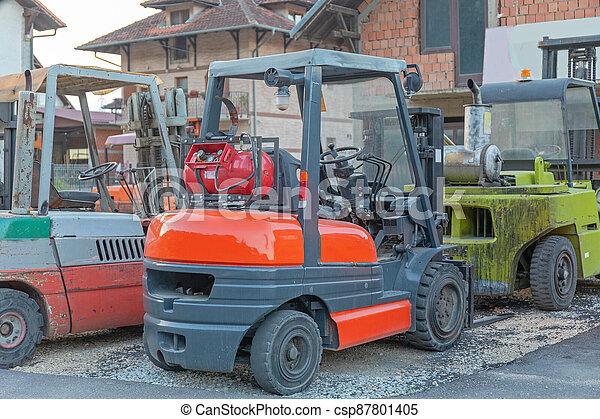 Gas Powered Forklift - csp87801405
