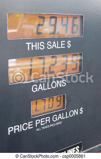 Gas Pump Panel - csp0005861