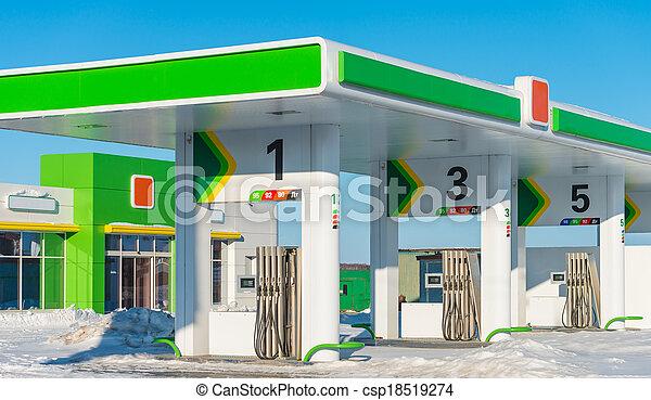 gas station - csp18519274
