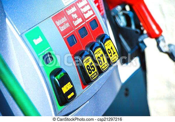 Gas Station Pump - csp21297216