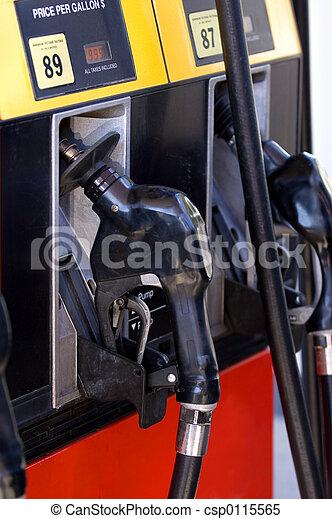 Gas station - csp0115565