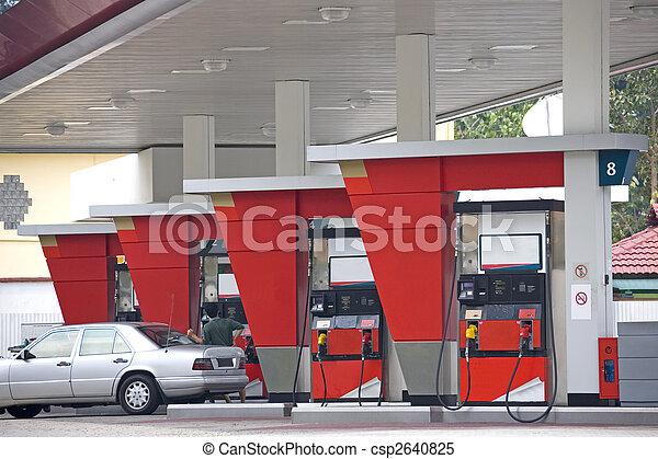 Gas Station - csp2640825