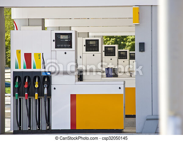 Gas station - csp32050145