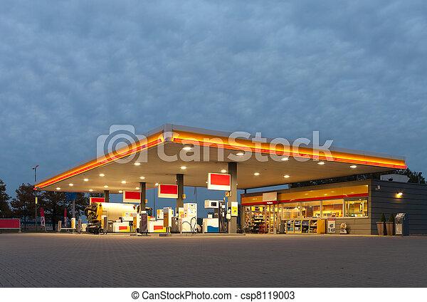 gas station - csp8119003