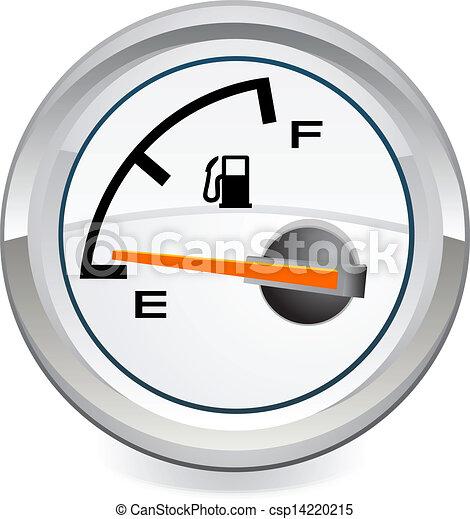 empty gas tank illustrations and stock art 1 245 empty gas tank rh canstockphoto com Blank Digital Clock Clip Art Free Business Clip Art Clocks