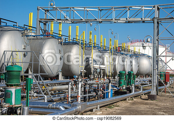gas tanks  for petrochemical plant - csp19082569