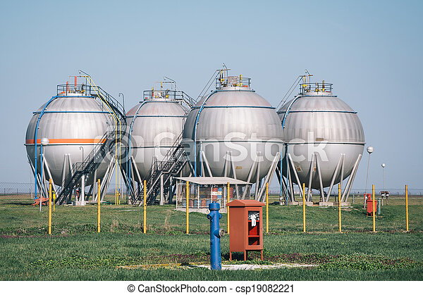 gas tanks  for petrochemical plant - csp19082221