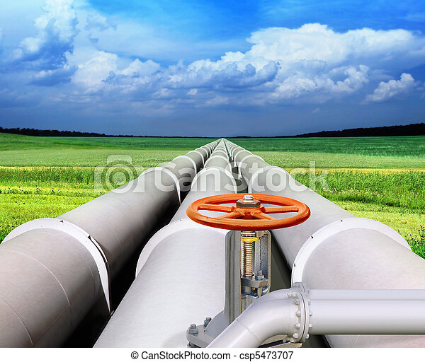 gas-transmission pipeline - csp5473707