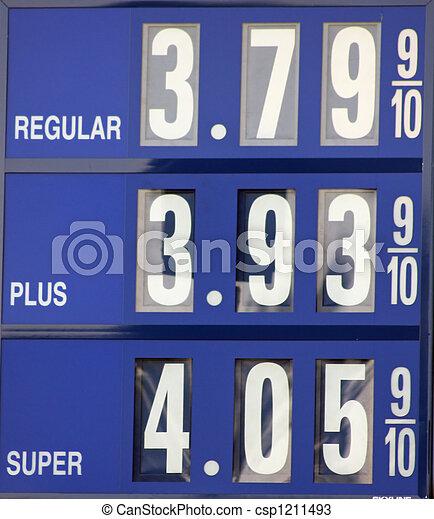 gas, underteckna - csp1211493