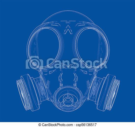 Wireframe maske Illustrationen und Clip-Art. 223 Wireframe maske ...