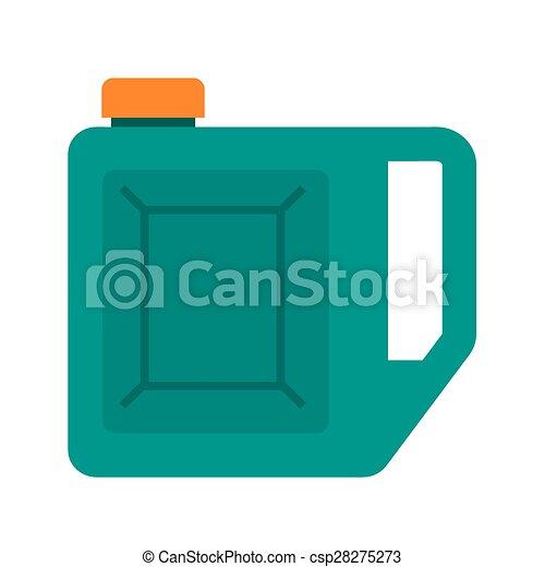 gasolina, lata - csp28275273