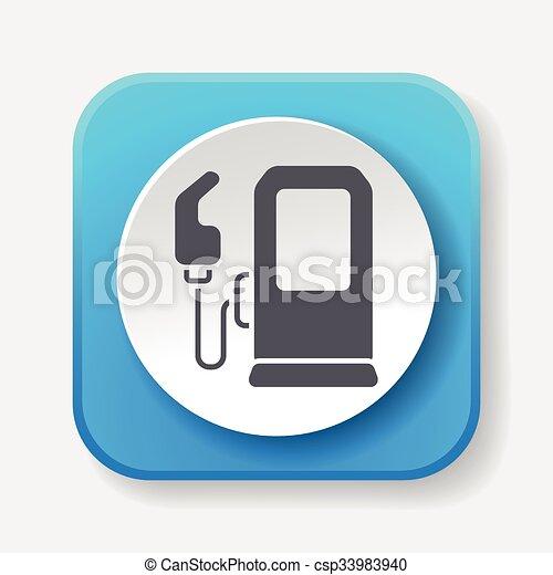 gasoline icon - csp33983940
